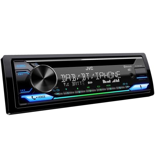 JVC KD-DB912BT Car Stereo & CD Player - DAB+ Alexa Bluetooth & USB/AUX Input