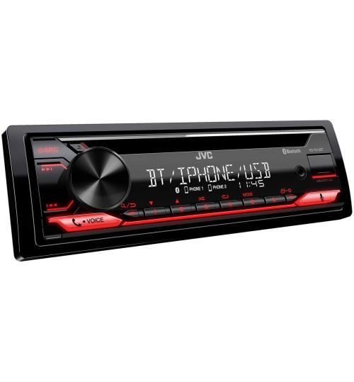 JVC KD-T812BT Car Stereo Receiver & CD Player - Alexa, Bluetooth & USB/AUX Input