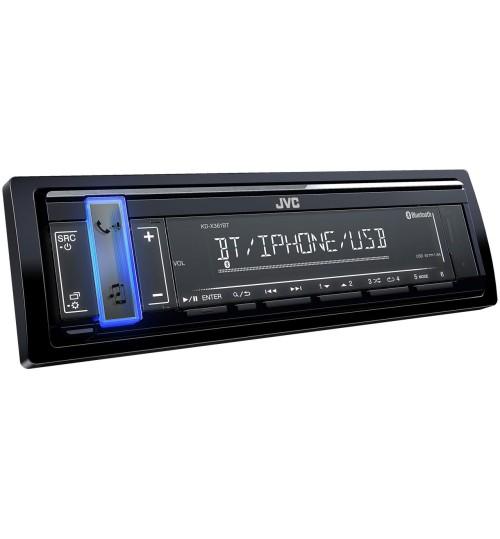 JVC KD-X361BT Car Stereo Digital Media Receiver - Bluetooth & USB/AUX Input