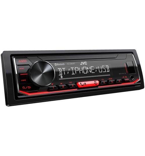 JVC KD-X362BT Car Stereo Digital Media Receiver - Bluetooth & USB/AUX Input
