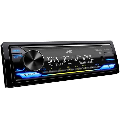 JVC KD-X472DBT Car stereo - DAB+ Alexa Bluetooth & USB/AUX Input