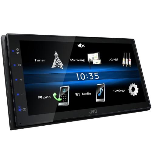 JVC KW-M25BT Car Stereo Digital A/V Touch Screen Media Receiver - Bluetooth USB AV Input