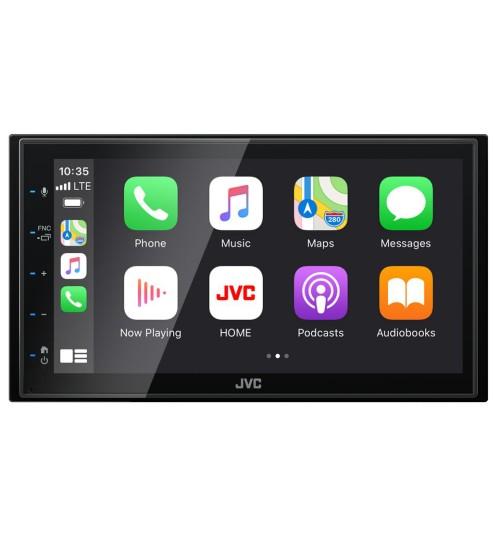 JVC KW-M560BT Car Stereo - Apple Carplay Android Auto Bluetooth USB AV Input