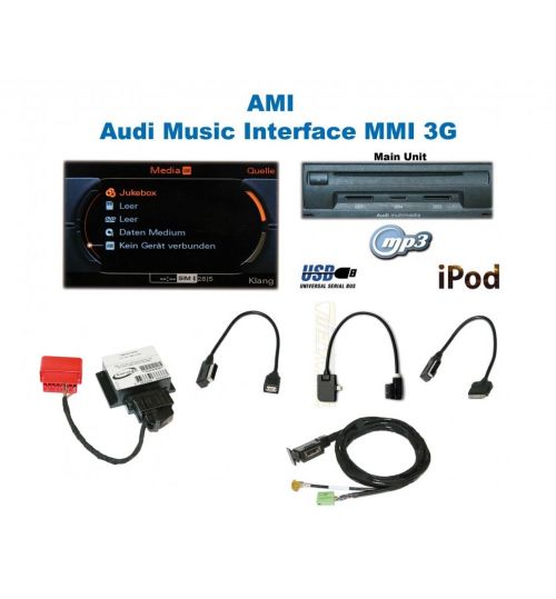 AMI 3G Music Interface Retrofit - Audi A5 8T/F