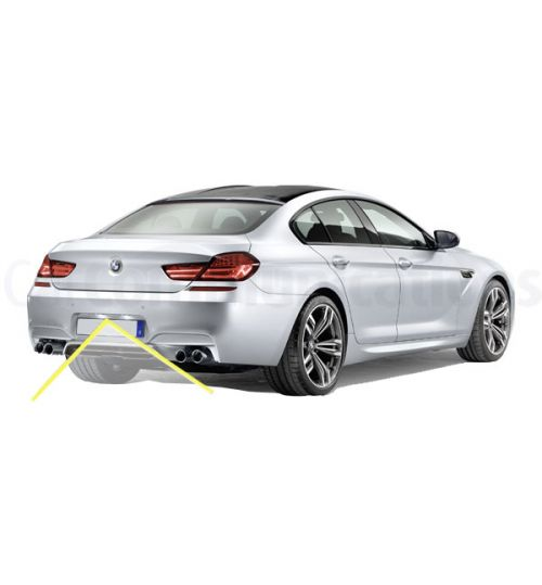 BMW 6-Series (F06/F12/F13) Rear View Camera Kit for CIC Systems