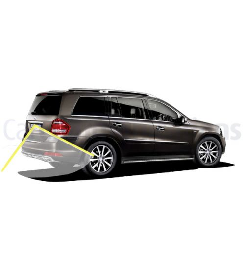 Mercedes GL-Class X164 with Comand NTG2.5 System Rear View Camera Kit