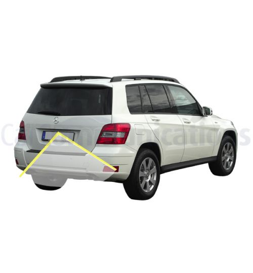 Mercedes GLK-Class X204 with Comand NTG4 Rear View Camera Kit