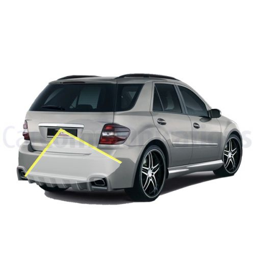 Mercedes M-Class W164 with Comand NTG2.5 System Rear View Camera Kit