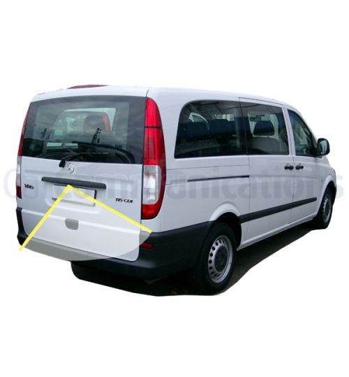 Mercedes Vito with Comand NTG2.5 System Rear View Camera Kit