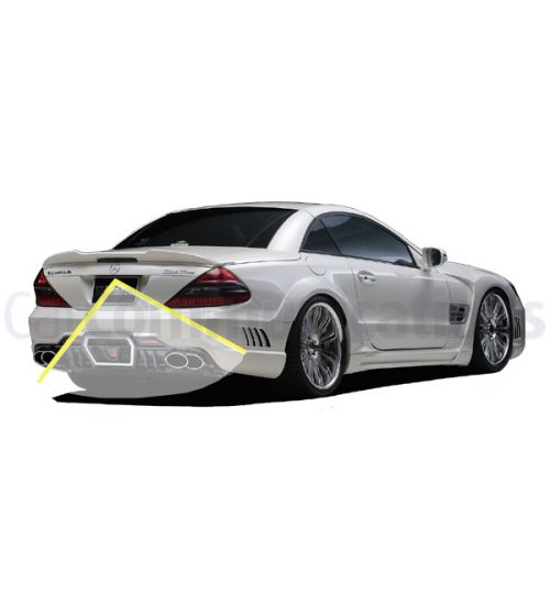 Mercedes SL-Class R230 with Comand NTG2.5 System Rear View Camera Kit