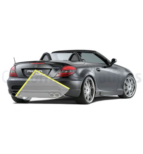 Mercedes SLK-Class R171 with Comand NTG2.5 System Rear View Camera Kit