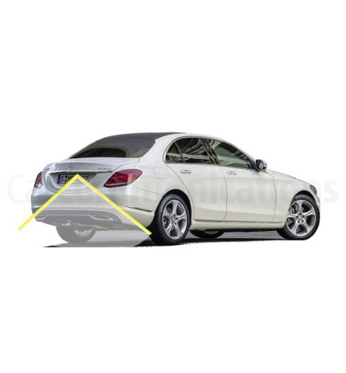 Mercedes C-Class (W205 / S205) With Comand NTG5 Rear Back-up Camera Kit