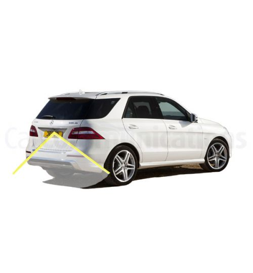 Reverse Rear View Camera Kit for Mercedes ML with Audio 20 (NTG 4.5)