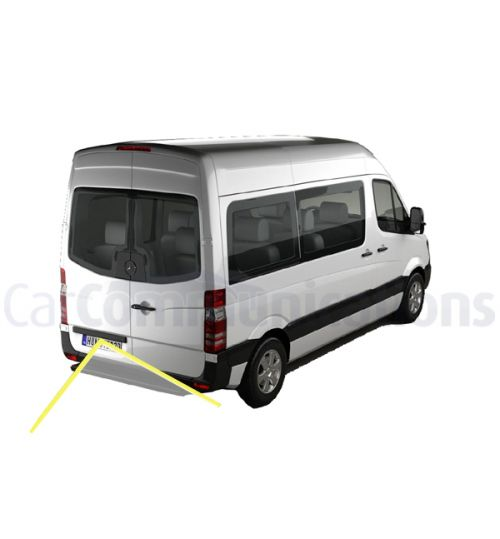 Mercedes Sprinter with Comand NTG2.5 Rear View Camera Kit