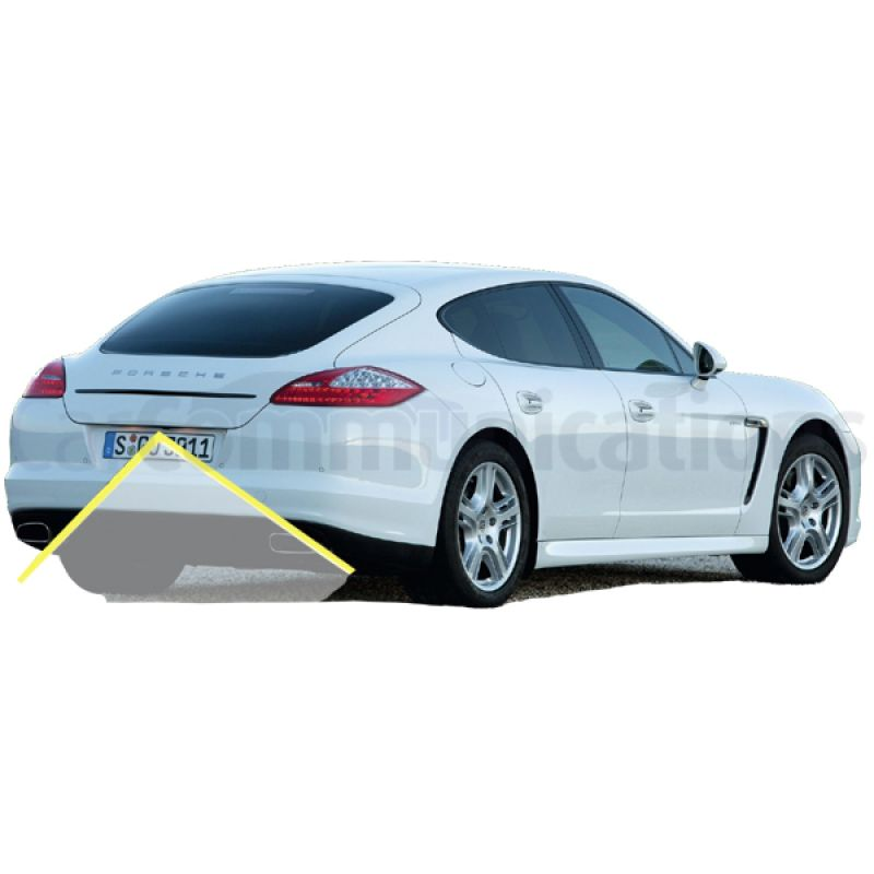 Porsche Panamera With PCM3.1 System Rear View Camera Kit