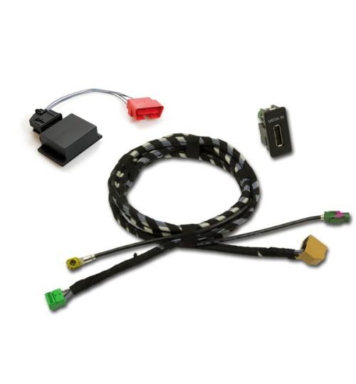 Multimedia Socket MEDIA-IN (iPod, MP3 or USB) VW Golf 7