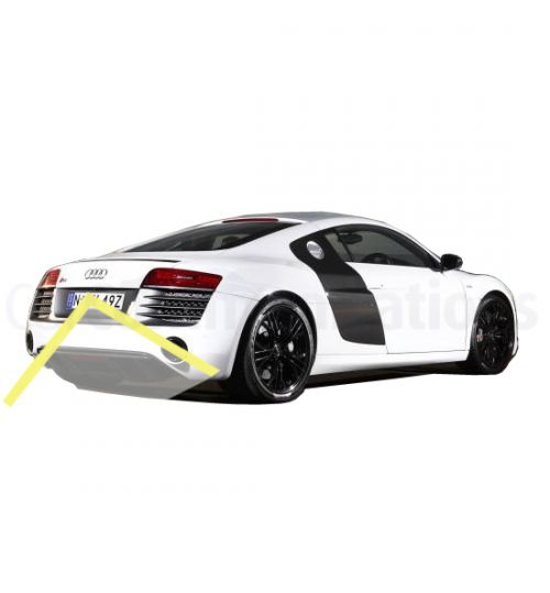 Audi R8 Rear Reversing HighLine Camera KIT - Genuine