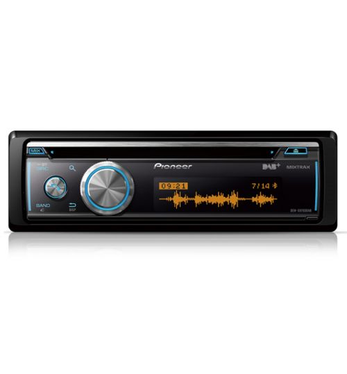 Pioneer DEH-X8700DAB - Single DIN Car CD MP3 DAB USB Aux-in Bluetooth Android iPod/iPhone Control Stereo