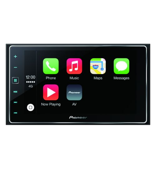 """Pioneer SPH-DA120 2 DIN 6.2"""" Touch Screen Apple CarPlay Bluetooth Android iPhone AppRadio Mode Stereo"""