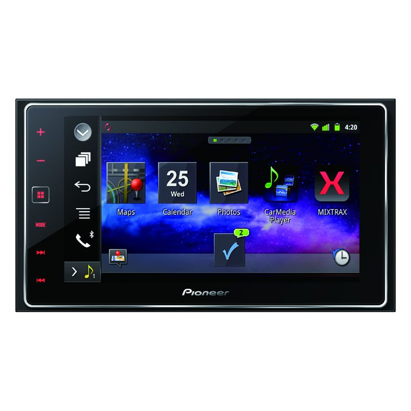 pioneer sph da120 2 din 6 2 touch screen apple carplay. Black Bedroom Furniture Sets. Home Design Ideas