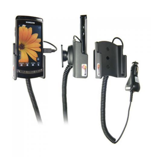 512020 Active holder with cig-plug for the Samsung i8910 HD