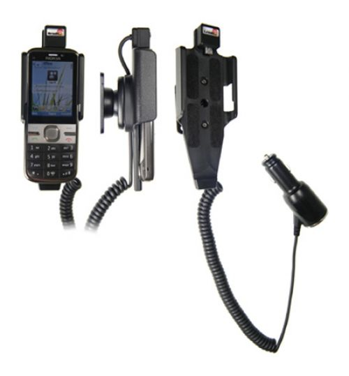 512148 Active holder with cig-plug for the Nokia C5-00