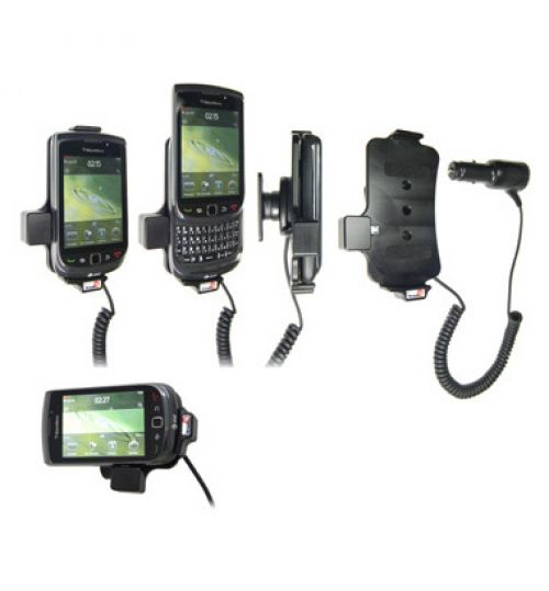 512179 Active holder with cig-plug for the Blackberry Torch 9800