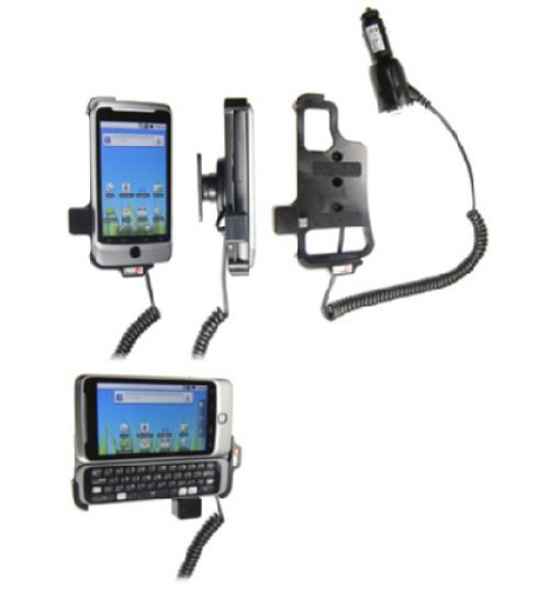 512200 Active holder with cig-plug for the HTC Desire Z