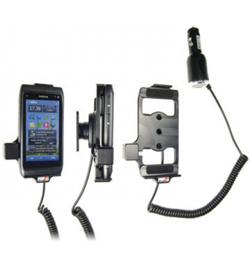 512205 Active holder with cig-plug for the Nokia N8