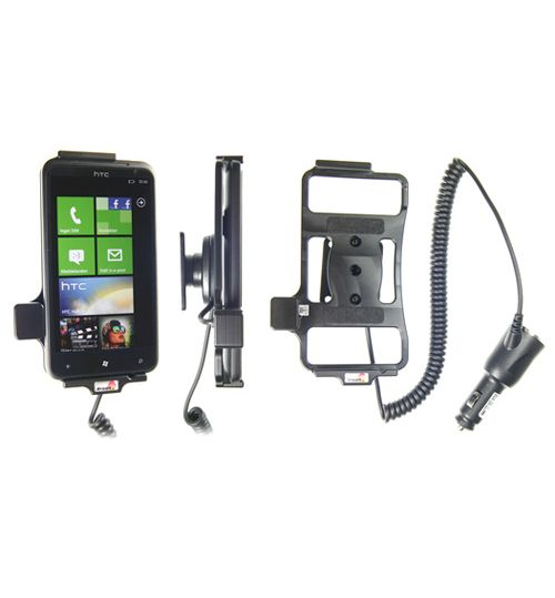 512296 Active holder with cig-plug for the HTC Titan