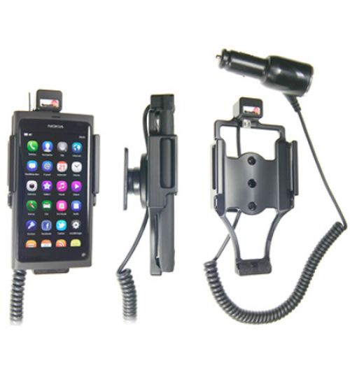 512297 Active holder with cig-plug for the Nokia Lumia 800 and N9