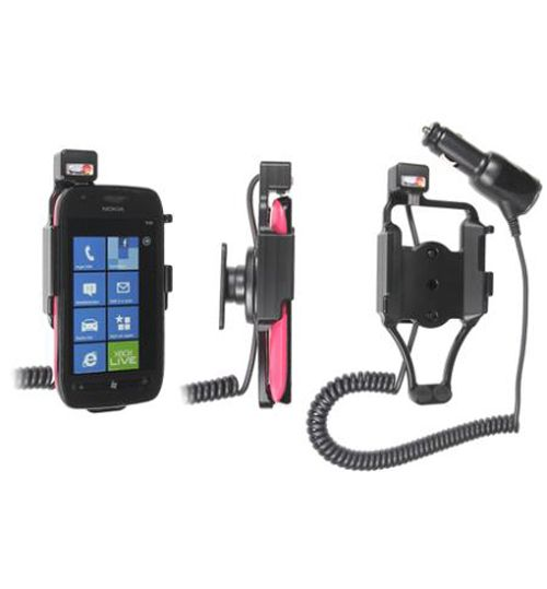 512359 Active holder with cig-plug for the Nokia Lumia 710