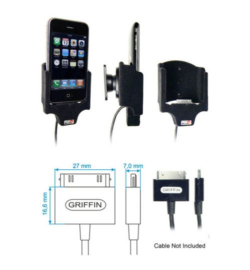 514103 Holder for Cable Attachment for the Apple iPhone 3G/3GS