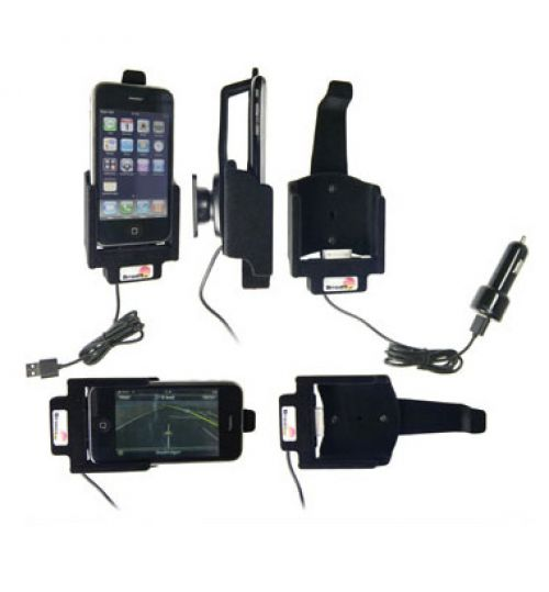 521023 Active holder with cig-plug for the Apple iPhone 3G/3GS