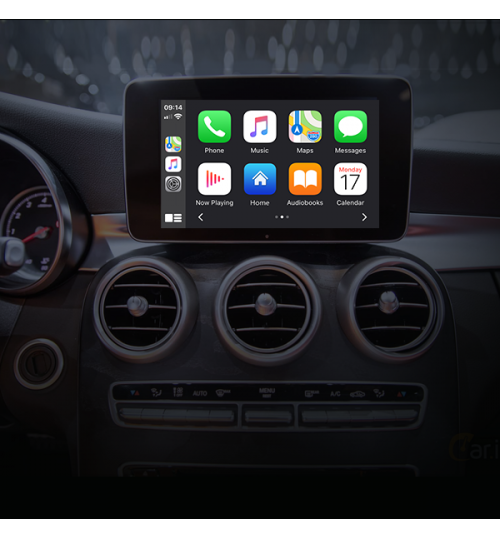 Wireless Apple CarPlay / Android Auto / Mirroring 3 in 1 OEM integration For Mercedes NTG 5.x