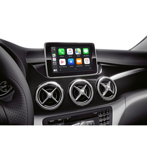 Wireless Apple CarPlay / Android Auto / Mirroring Interface for Mercedes with NTG 4.5
