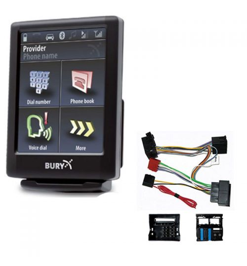 Peugeot Bury Bluetooth Car Kit CC9068 + SOT-040