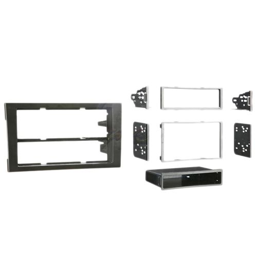 Connects2 Single/Double DIN Stereo Facia Adapter For Audi A4 - CT24AU19
