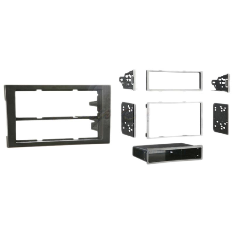 Connects2 single double din stereo facia adapter for audi for Mueble 2 din audi a4