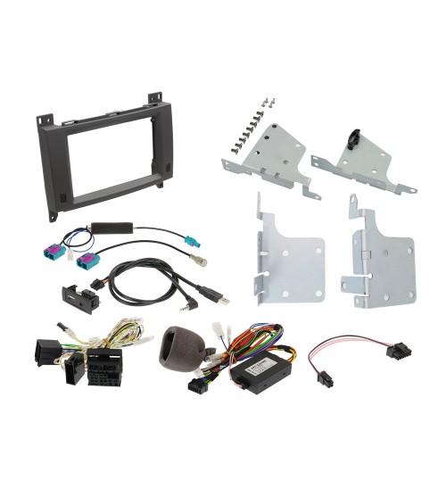 "Alpine KIT-702-447 7"" Kit Steering Wheel Remote Control Interface for Mercedes Vito (447)"