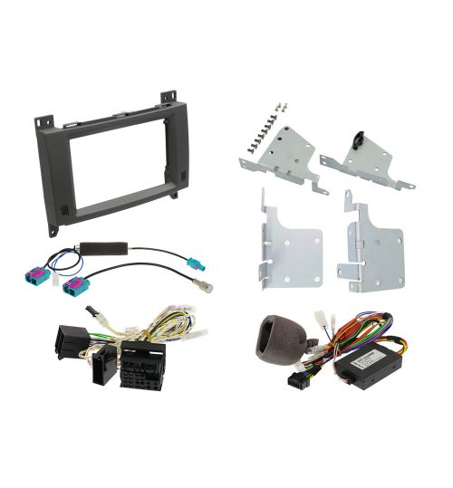 Alpine KIT-702MB 7-inch Installation Kit with CAN Interface for Mercedes