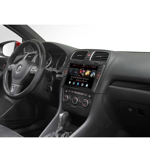 "Alpine i902D-G6 9"" Touch Screen Navigation for Volkswagen Golf 6"