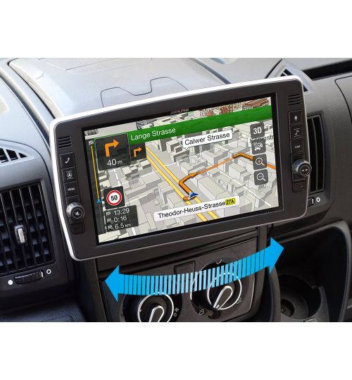 "Alpine X903D-DU2 9"" Touch Screen Navigation with Swivel Display for Fiat Ducato III, Citroën Jumper II and Peugeot Boxer II"