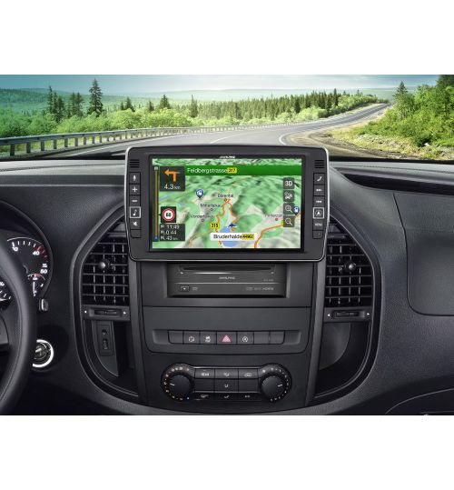 """Alpine X903D-V447 9"""" Touch Screen Navigation for Mercedes Vito Apple Car Play, Android Auto"""