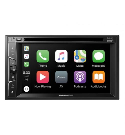 Pioneer AVH-Z3200DAB Double Din Car CD, DVD Stereo DAB+ Digital Radio Bluetooth