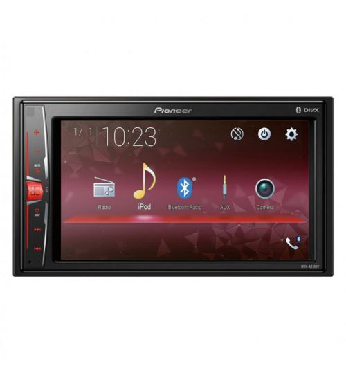 """Pioneer MVH-A210BT 6.2"""" Mechless Bluetooth MP3 USB Player Android iPhone Touchscreen"""