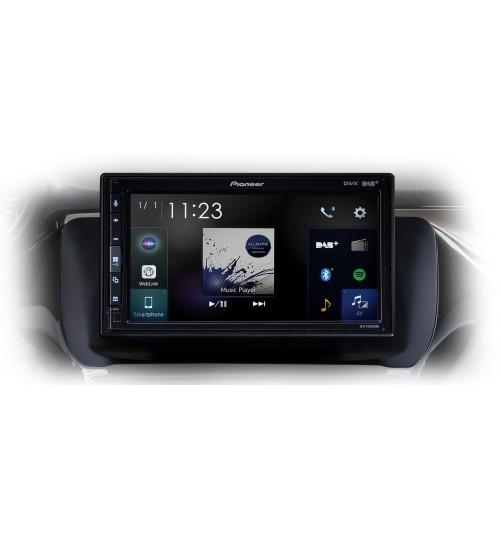 Pioneer SPH-EVO62DAB-208 DAB+ Radio Apple Car Play, Adroid, Bluetooth Stereo For Peugeot 208 / 2008