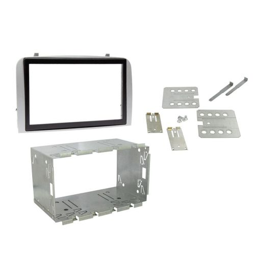Connects2 Double DIN Black Fascia Plates For Alfa Romeo - CT23AR02