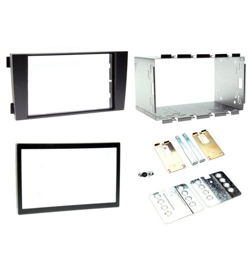 Connects2 Double DIN Stereo Fascia Plates For Audi - CT23AU03