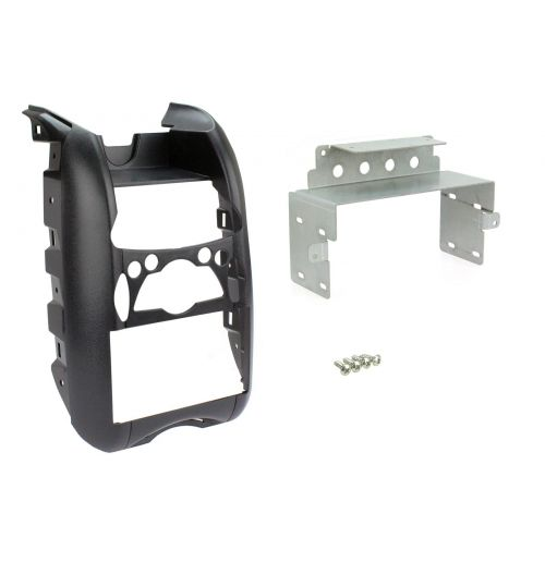 Connects2 Double DIN Stereo Fascia Plate For BMW - CT23BM02